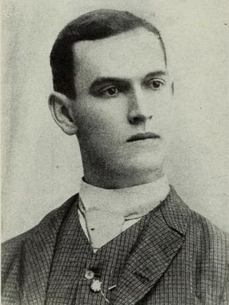 David F. Houston - Young Houston age 19, (April 1885).