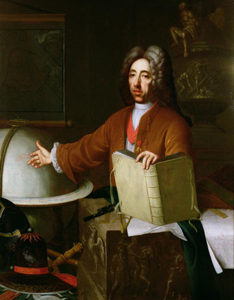 Portrait of Prince Eugene by Jacob van Schuppen. Portrait of Prince Eugene of Savoy Carignano.png