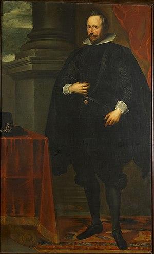 Portrait of Wolfgang Wilhelm, Count Palatine of Neuburg, Gemeentemuseum Helmond 95-286