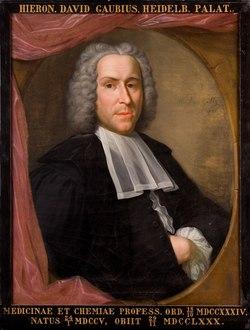 Portret van Hieronymus David Gaubius, hoogleraar Scheikunde en Geneeskunde te Leiden Icones 158.tiff