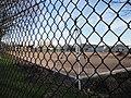 Portsmouth United Services Recreation Ground astroturf being laid 2.JPG