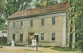 Deerfield, Massachusetts - Image: Post Office, Old Deerfield, MA