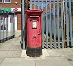 Post box at Norris Green post office.jpg