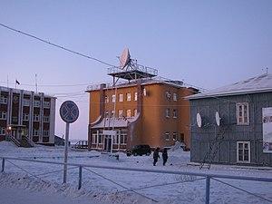 Khatanga, Russia - Khatanga Post Office