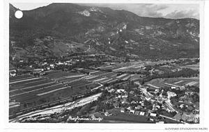 Dovje - Postcard of Dovje
