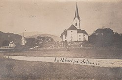 Old postcard of Družmirje