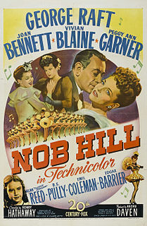 <i>Nob Hill</i> (film) 1945 film by Henry Hathaway