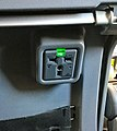 Power Outlet on back seat of Boeing 737.jpg
