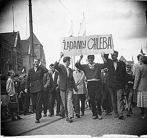 Poznań 1956 protests - Image: Poznan 1956