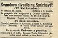 Pozvánka na ochotnické představení (Národní listy, 25. 2. 1897, s. 7.jpg