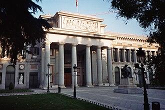 Juan de Villanueva - Prado Museum, Velazquez entrance.