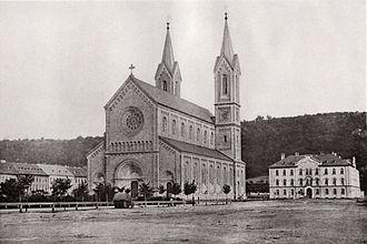Vojtěch Ignác Ullmann - Image: Prague Church of Saints Cyril and Methodius 1868