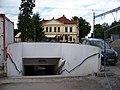 Praha-Klánovice, rekonstrukce, podchod.jpg