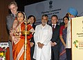Pratibha Devisingh Patil lighting the lamp to inaugurate the International Conference on 'Dynamics of Rural Transformation in Emerging Economies' organized by the Planning Commission, in New Delhi on April 14, 2010.jpg