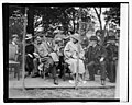 Pres. & Mrs Harding at tennis match, 5-11-23 LOC npcc.08469.jpg