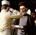President Ali Khamenei - Graduation ceremony, Imam Ali Officers' Academy (Cropped).jpg