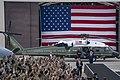 President Trump Delivers Remarks at Osan Air Base (48170500266).jpg