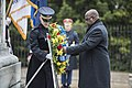 President of the Democratic Republic of the Congo Felix Tshisekedi Visits Arlington National Cemetery (47564962211).jpg
