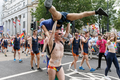 Pride in London 2016 - A group of LGBT swimmers in the parade.png