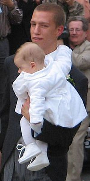 Prince Louis of Luxembourg - Louis with his son Gabriel