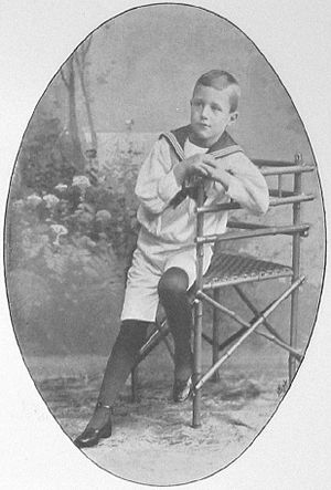 Prince Erik, Duke of Västmanland - Prince Erik as a child