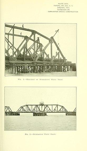Dumbarton Rail Bridge - Image: Proceedings 39amer 0223