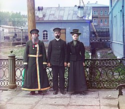 Three generations of a Russian family, c.1910.