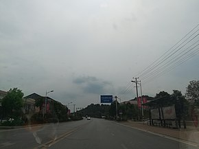 Provincial Highway S209 in Dachengqiao Town of Ningxiang, Hunan, China, picture1.jpg