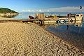 Przystań z łódkami na jeziorze Bajkał 02.jpg