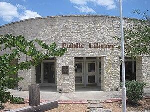 Leakey, Texas - Leakey Public Library