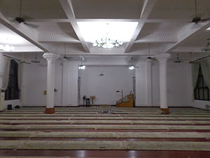 Pudong Mosque - Pudong Mosque prayer hall