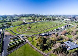 Pukekohe Park Raceway - Image: Pukekohe Park Aerial 2016