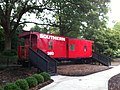Pullen Park Childrens Railroad Oct 2013 Southern 380 Caboose - panoramio.jpg
