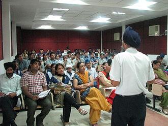 Education in Punjab, India - A educational seminar