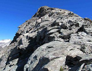 Punta Sulè Mountain in Italy