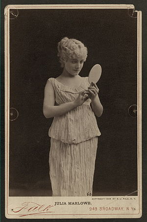 Pygmalion and Galatea (play) - Julia Marlowe as Galatea in a US production