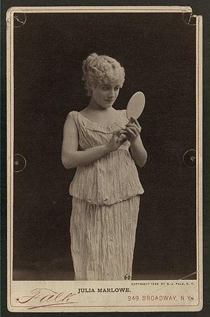 Julia Marlowe - Marlowe in Pygmalion and Galatea
