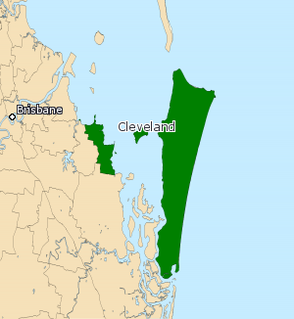 Electoral district of Cleveland state electoral district of Queensland, Australia