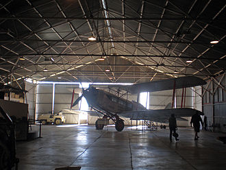 Longreach, Queensland - The world's third oldest airline, Qantas, commenced operating in Longreach - from this hangar - now part of the Qantas Founders Museum.