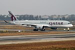 Qatar Airways, A7-ALU, Airbus A350-941 (46913296614).jpg