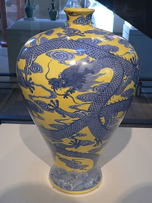 Porcelain from the reign of the Qianlong Emper...