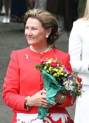 Queen Sonja of Norway - Queen Sonja in Stavanger 2007