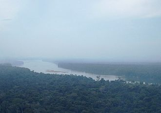 La Esmeralda, Venezuela - Orinoco river crossing La Esmeralda