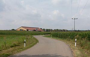 Sugenheim - Image: Rüdern, landbouwbedrijf aan het rand van het dorp IMG 2162 2016 08 06 11.42