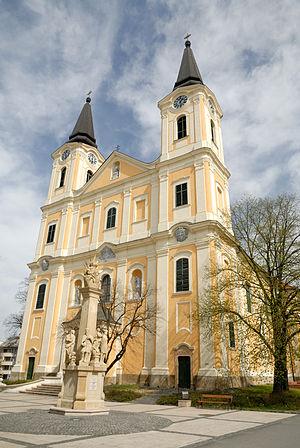 Zalaegerszeg - Image: R. k. plébániatemplom (11066. számú műemlék) 4