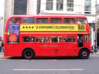 Bus manufacturing - An AEC Routemaster, a pioneering 1950s bus design