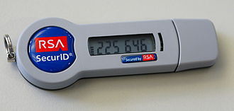 RSA SecurID - RSA SecurID (new style, SID800 model with smartcard functionality)
