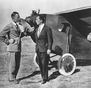 RWD (aircraft manufacturer) - Jerzy Drzewiecki and Jerzy Wedrychowski by the RWD-7