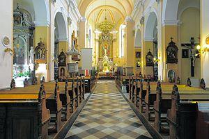 Brezje, Radovljica - Church interior