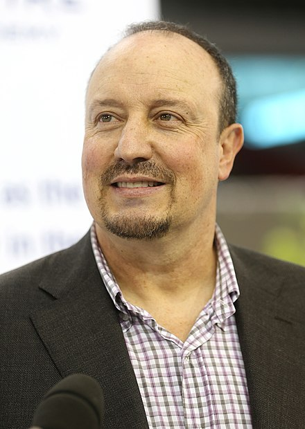 Spanish Rafael Benítez is the current manager of the club - Real Madrid C.F.